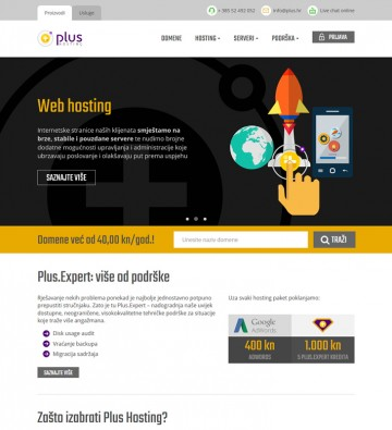 Plus.hr - Home page