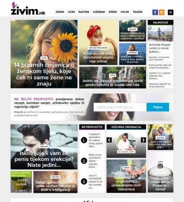 Zivim.hr - Home page